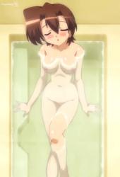 Takuto in the bath nude full body naked