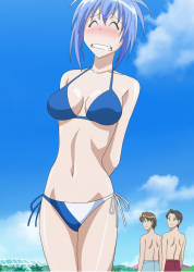 Kampfer Natsuru Bikini embarrassed shy