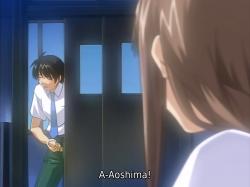 Kenichi masturbating watching Sakajou