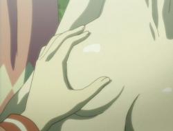 Hazumu breasts