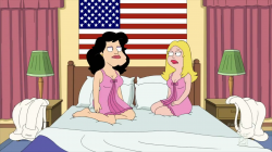 American Dad lesbians