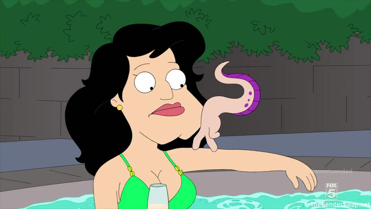 American dad stan goes on the pill gender transformation