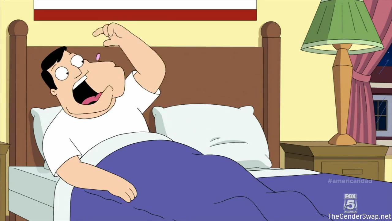 american dad stan goes on the pill gender