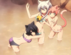 Gugure gender swapped at the hot springs
